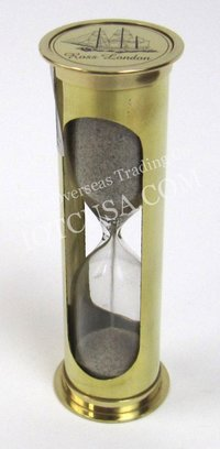 Brass Glass Sand Timber