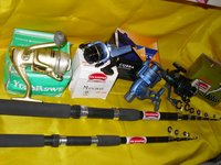 Frp Fishing Rod And Spinning Reel