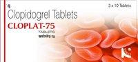 Cloplat-75: Clopidogrel Tablets 75mg (Generic Plavix)