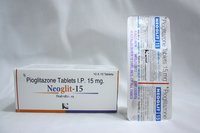 Neoglit-15: Pioglitazone Tablets 15mg (Generic Actos)