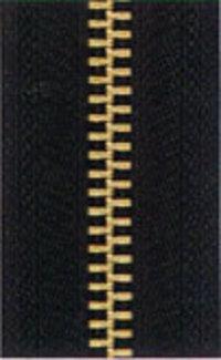 Brass Metal Zipper