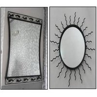 Wrought Iron Mirrors