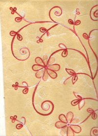 Non Woven Papers With Embroidery