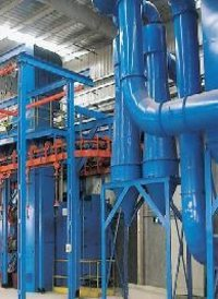 Q58 Series Piled And Released Type Abrasive Blasting Equipment