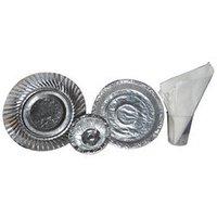 Paper Silver Dish