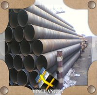 Astm A53 Spiral Welded Steel Pipes