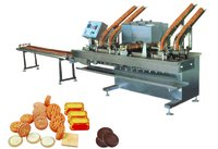Double Lines With Two Flavors Biscuit Sandwich Machine