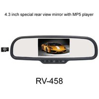 4.3 Inch Special Car Rear View Mirror With Mp5 Player