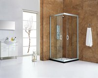Double Sliding Square Shower Room Nr36