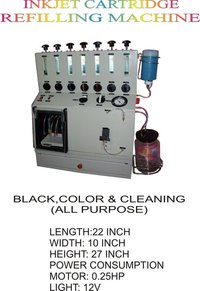 Inkjet Cartridge Refilling Machine With 7 Refilling Chambers