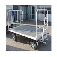 Airport Open Baggage Trolley