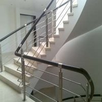 Durable Ss Staircase Railing