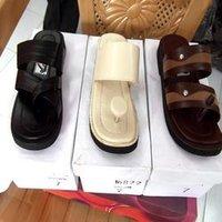Leather Men'S Sandals