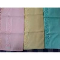 Plain Embroidered Towels