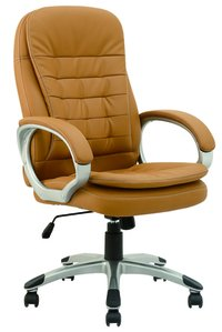 Leather Swivel Manager Office Chair