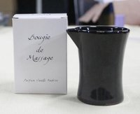 Luxurious Cocoa And Shea Butter Massage Candle In Ceramic Cup Mc60100