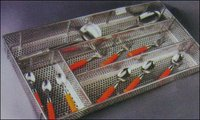 Stainless Steel Cutlery Basket