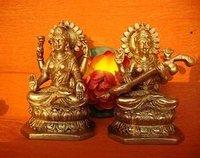 Goddess Laxmi And Saraswati