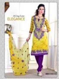 Pure Chanderi Silk Suits