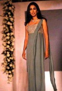 Ladies Indo Western Silk Dress