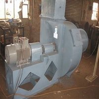 Coupling Driven Blower For Glass Furnace