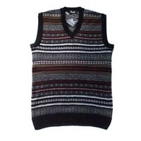 Half Sleeve Striped Sweaters