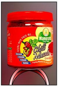 Red Chilli Masala In Handsome Plastic Jar