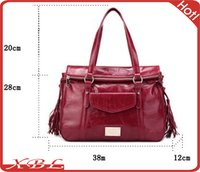 Leather Office Lady Fancy Bags