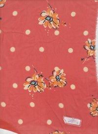 Polyester Georgette Print Fabrics