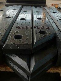 Anti Aging Facing Plate On Cone/Square Dock Bumper