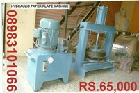 Paper Dish, Plate Machine