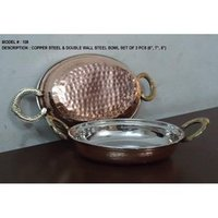 Copper Serving Bowl