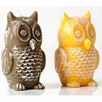 Owl Design Candles