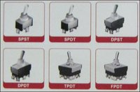 Toggle Switches Standard - Chrome Shaft