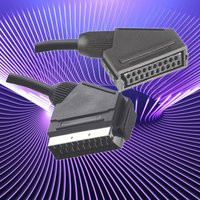 21 Scart Cable Male To Female