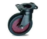 Heavy Duty Forged Caster With Bonded Rubber Tyre Wheels