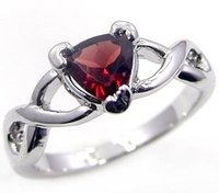 Gemstone Silver Rings