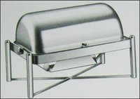 Rolex Stainless Steel Chafing Dish