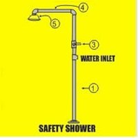 Hand Operated Safety Showers