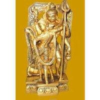 Shiva Parvati Standing Statue (Loving Pose)