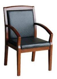Modern Wooden Office Chair