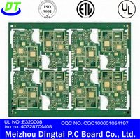 Multilayer Pcb With Hard Gold Plating