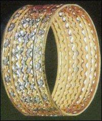 Fancy Designer Gold Bangles