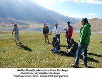 Kullu - Manali Adventure Tour Package