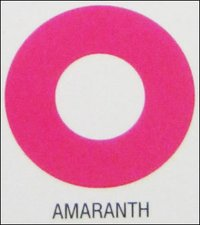Amaranth Synthetic Food Colors