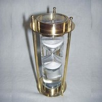 Liquid Brass Sand Timer