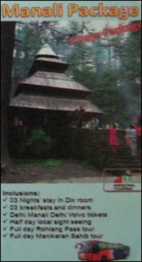 Manali Tour Package Services