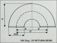 180 Deg. Lr Return Bend