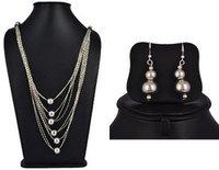 Long Chain Necklace Set