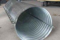Nestable Semicircle Corrugated Metal Pipe